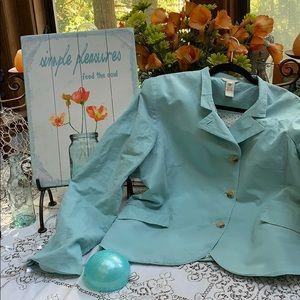 """Sundance """"Audrey"""" asymmetrical blazer"""